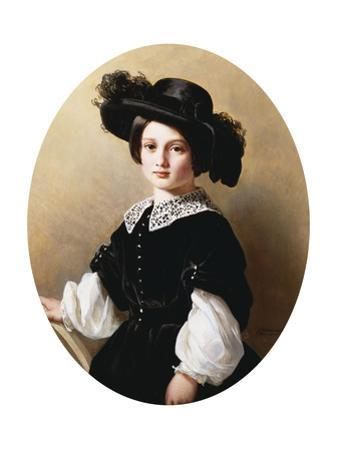 Portrait of a Young Girl, 1850