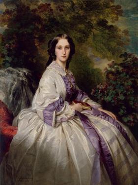 Portrait of Countess Maria Ivanovna Lamsdorf, Née Beck, 1859 by Franz Xaver Winterhalter
