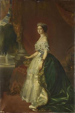 Portrait of Eugénie De Montijo (1826-192), Empress of the French, 1853 by Franz Xaver Winterhalter