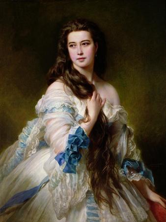 Portrait of Madame Rimsky-Korsakov (1833-78) Nee Varvara Dmitrievna Mergassov, 1864