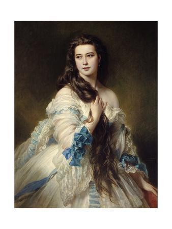 Portrait of Mrs. Rimsky Korsakov, 1864