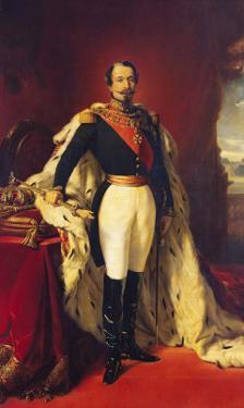 Portrait of Napoleon III (1808-73) Emperor of France by Franz Xaver Winterhalter