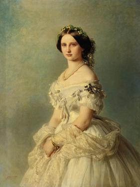Portrait of Princess Louise of Prussia, 1856 by Franz Xaver Winterhalter
