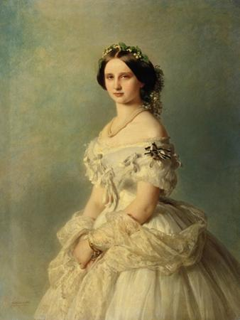 Portrait of Princess Louise of Prussia, 1856