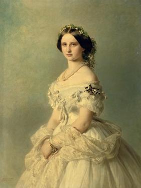 Portrait of Princess of Baden, 1856 by Franz Xaver Winterhalter