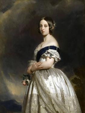 Portrait of Queen Victoria by Franz Xaver Winterhalter
