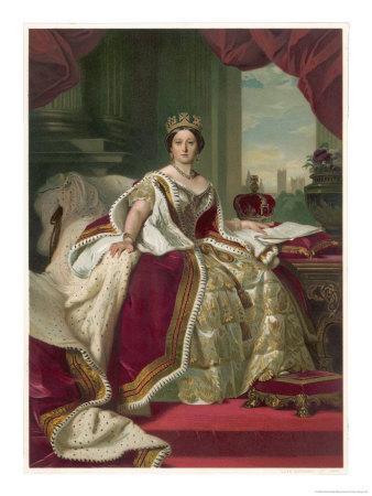 Queen Victoria Circa 1845
