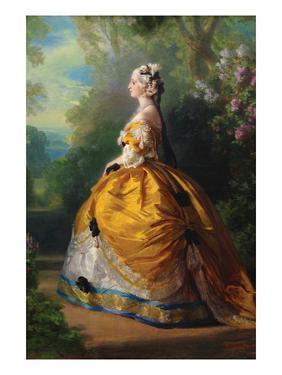 The Empress Eugénie (Eugénie De Montijo, 1826–1920, Condesa De Teba) by Franz Xaver Winterhalter