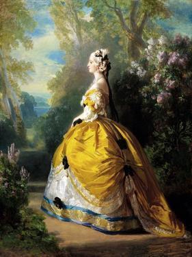 The Empress Eugénie (Eugénie De Montijo) by Franz Xaver Winterhalter