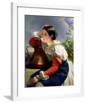 Young Italian at the Well, circa 1833-34 by Franz Xaver Winterhalter