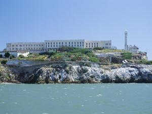Alcatraz Island, Site of the Infamous Prison, San Francisco, California, USA by Fraser Hall