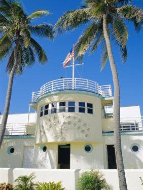 Art Deco Lifeguard Headquarters, South Beach, Miami Beach, Florida, USA by Fraser Hall