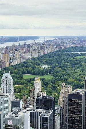 Central Park from Above, New York City