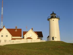 Exterior of Nobska Point Lighthouse, Woods Hole, Cape Cod, Massachusetts, USA by Fraser Hall