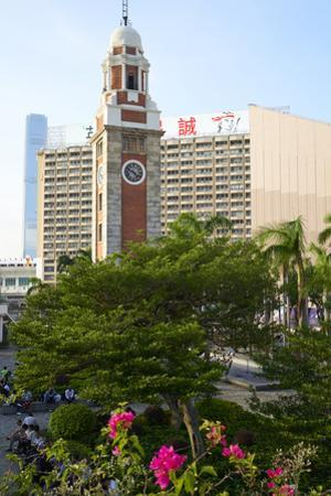 Historic Clock Tower, Tsim Sha Tsui, Kowloon, Hong Kong, China, Asia by Fraser Hall