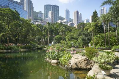 Hong Kong Park in Central, Hong Kong Island, Hong Kong, China, Asia by Fraser Hall