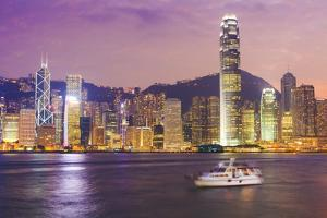 Hong Kong Skyline by Fraser Hall