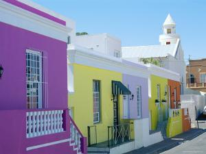 House in the Bo-Kaap (Malay Quarter), Cape Town, Cape Province, South Africa by Fraser Hall