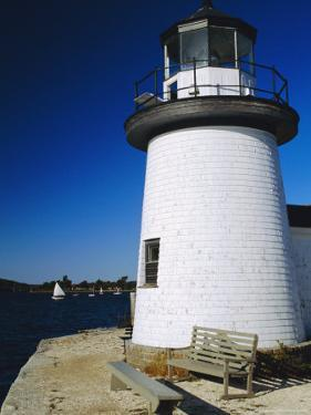 Lighthouse, Living Maritime Museum, Mystic Seaport, Connecticut, USA by Fraser Hall