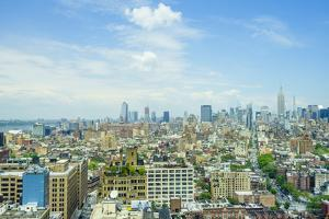 Manhattan skyline from SoHo to the Empire State Building, New York City, United States of America,  by Fraser Hall