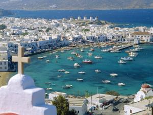 Mykonos Town, Mykonos, Greece by Fraser Hall