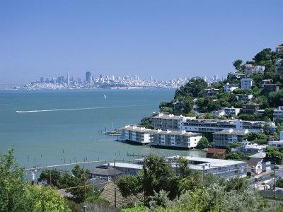 Sausalito, a Town on San Francisco Bay in Marin County, California, USA