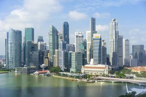 Singapore Skyline by Fraser Hall