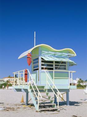 South Beach Lifeguard Station, Art Deco, Miami Beach, Florida, USA by Fraser Hall