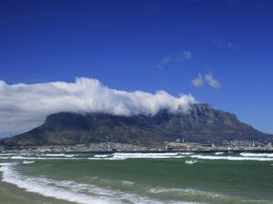 Table Mountain Viewed from Bloubergstrand, Cape Town, South Africa by Fraser Hall