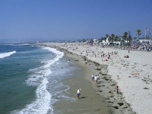 The Beach at Ocean Beach, San Diego, California, United States of America (U.S.A.), North America by Fraser Hall