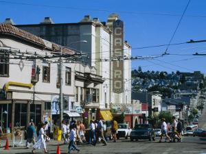 The Castro District, a Favorite Area for the Gay Community, San Francisco, California, USA by Fraser Hall