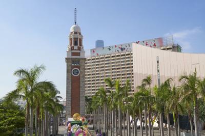 The Clock Tower, Tsim Sha Tsui, Kowloon, Hong Kong, China, Asia by Fraser Hall