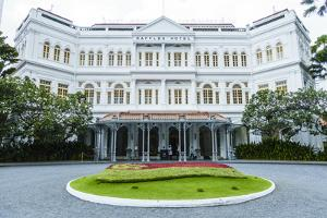The Famous Raffles Hotel, a Singapore Landmark, Singapore, Southeast Asia, Asia by Fraser Hall