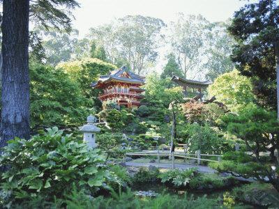 The Japanese Tea Garden, Golden Gate Park, San Francisco, California, USA