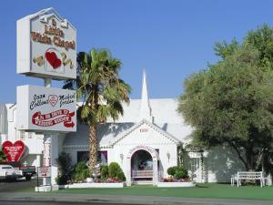 The Little White Chapel, Las Vegas, Nevada, USA by Fraser Hall