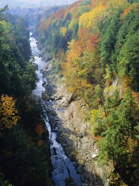 The Ottauquechee River, Quechee Gorge, Vermont, USA by Fraser Hall