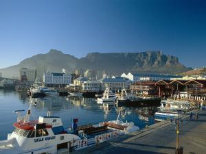 The V & A Waterfront and Table Mountain Cape Town, Cape Province, South Africa by Fraser Hall