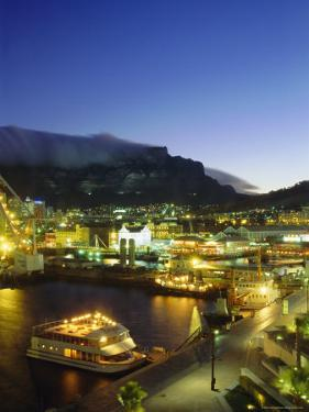 Victoria and Albert Waterfront with Table Mountain Behind, Cape Town, South Africa by Fraser Hall