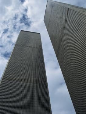 World Trade Center Twin Towers, Destroyed 11 September 2001, Manhattan, New York City, USA by Fraser Hall