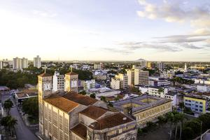 Aerial View of Cuiaba City, Brazil by Frazao