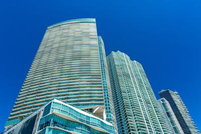 Luxury Buildings in Miami, Florida, USA