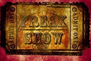 Freak Show Ticket 2