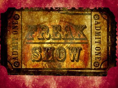 Freak Show Ticket 2