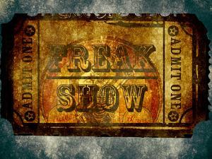 Freak Show Ticket 5