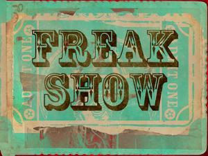 Freak Show Ticket