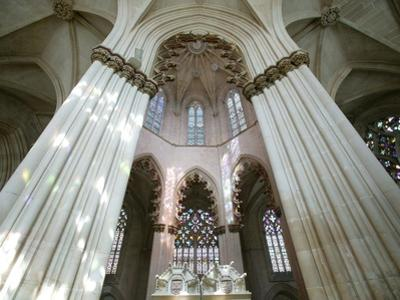 Nave of Abbey of Batalha