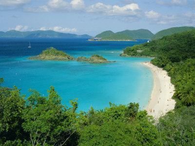 Trunk Bay, St. John, U.S. Virgin Islands, Caribbean, West Indies, Central America