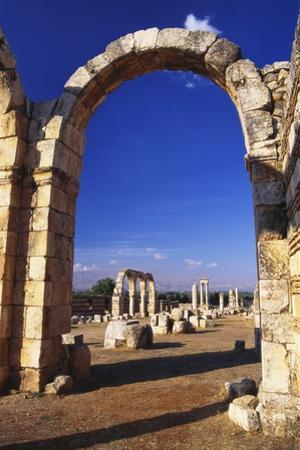Umayyad Ruins, Anjar, Lebanon