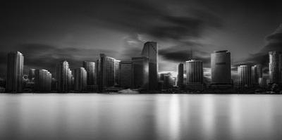 Miami Skyline by Fred Gramoso