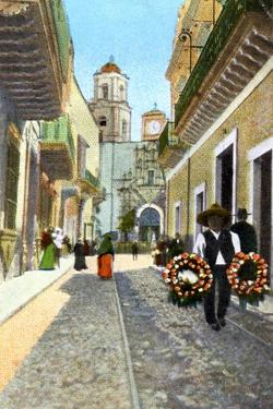 Guanajuata, Mexico, 1910 by Fred Harvey